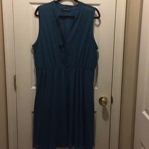 F2F Sleeveless Green Dress